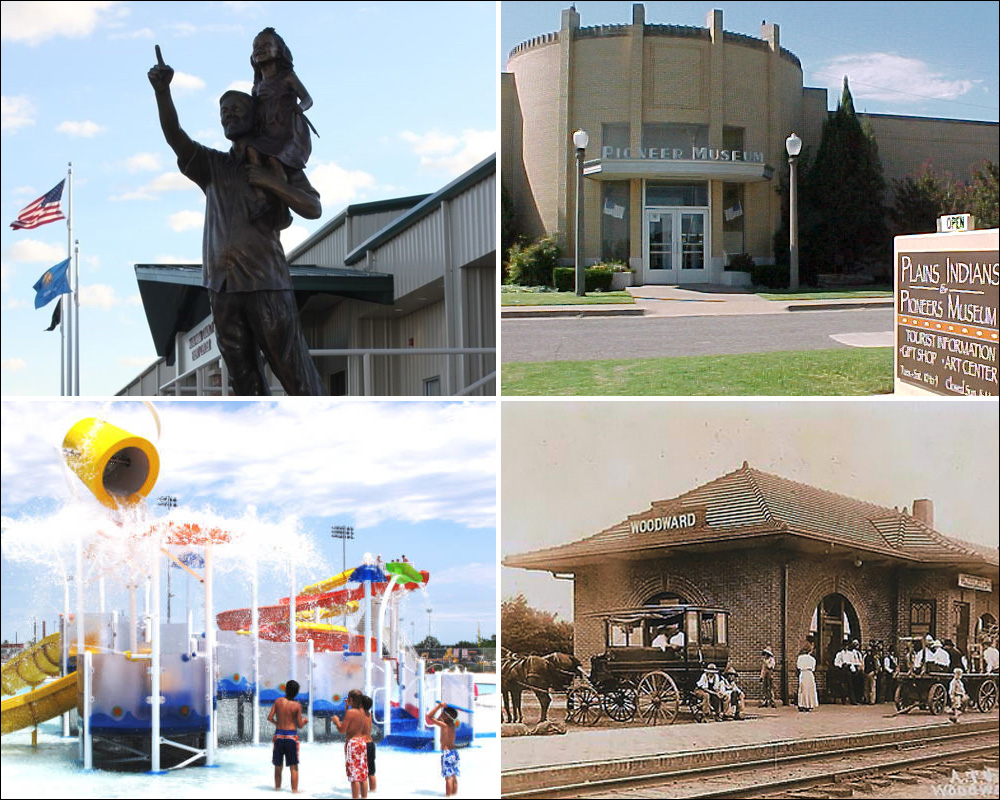 woodward ok attractions